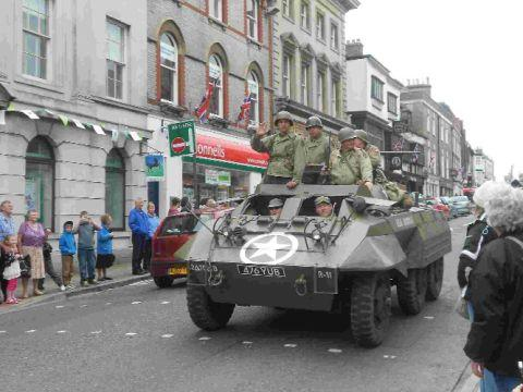 ON THE STREETS: The Armour and Embarkation Parade through Dorchester