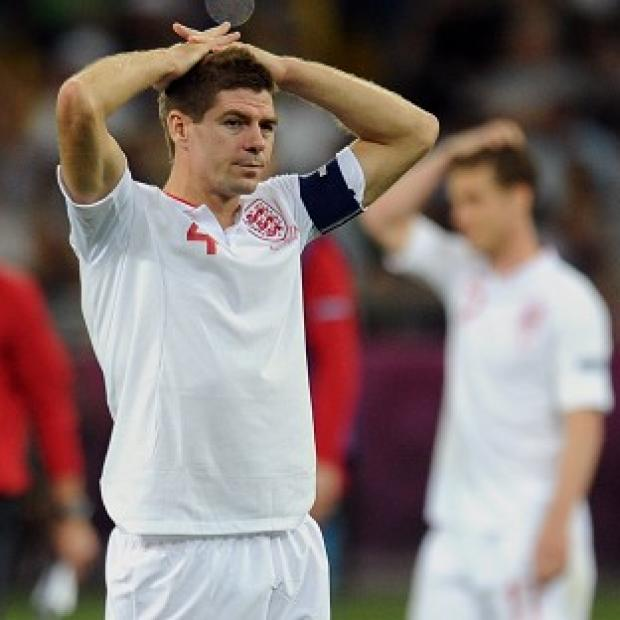 Steven Gerrard says England need to work harder at retaining the ball