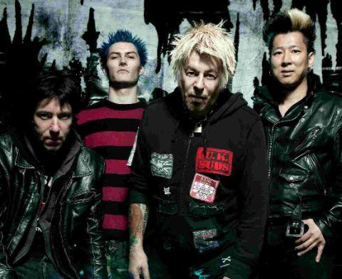 GOING STRONG: UK Subs, Picture: TINA KORHONEN