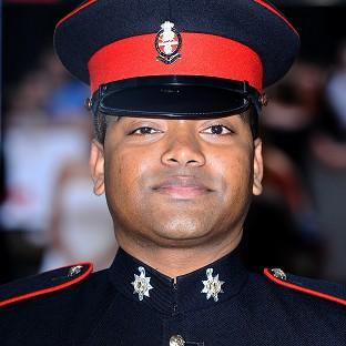 Dorset Echo: Lance Corporal Johnson Beharry was awarded the Victoria Cross for saving the lives of 30 comrades