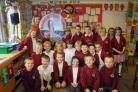 Youngsters at Chickerell Primary School