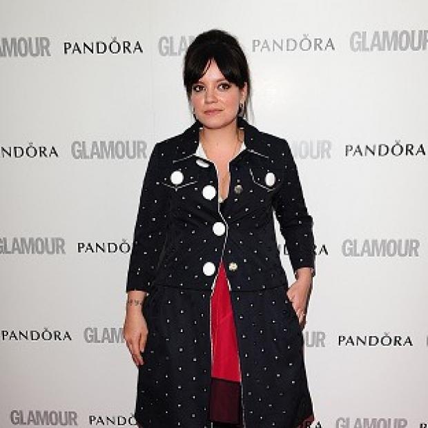 Dorset Echo: Lily Allen said everyone should 'move on' after her online spat