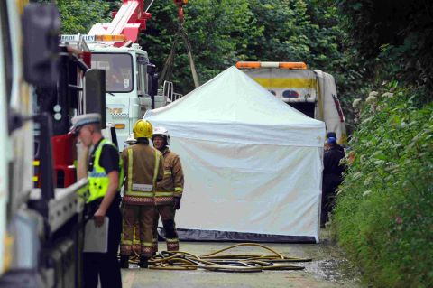 Beaminster Tunnel tragedy: Friends in shock