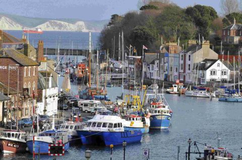 PRETTY AS A PICTURE: Weymouth harbour