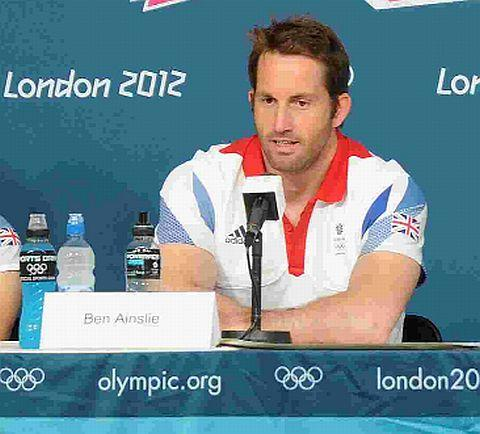 TOUGH TASK: Ben Ainslie is expecting a battle for gold