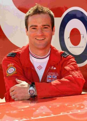 JET 8 RACE: Flight Lieutenant Jon Egging
