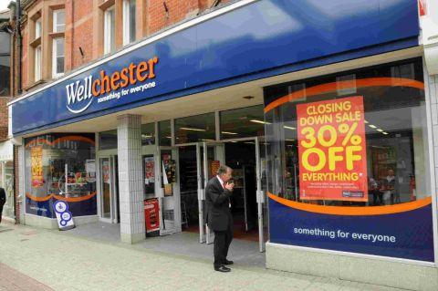 The Wellchester store set to become a Poundland