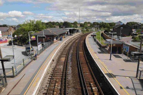 A 24-year-old man was killed as he tried to cross the electrified line near Dorchester South station