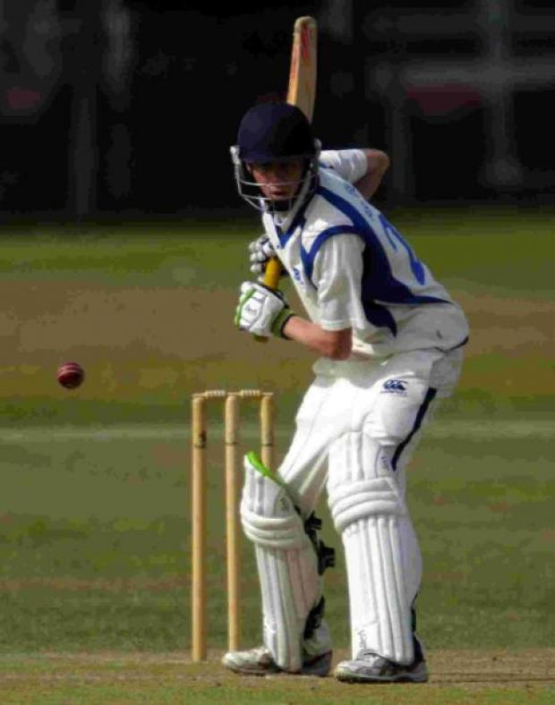 CLASS APART: Jonny Armfield hit 60 at Redlands
