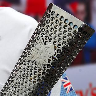 Dorset Echo: The Paralympic torch has been lit across the UK
