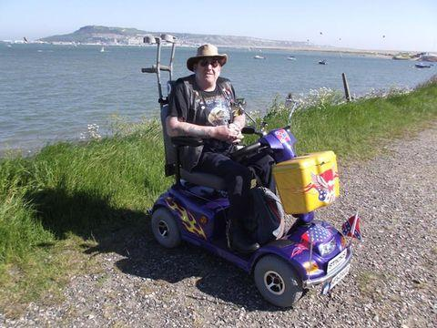 Dorset Echo: Paralympic Flame Ambassador Ian White chosen to carry the English Flame in Weymouth