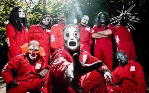 Knotslip pay homage to Slipknot at the Weymouth Pavilion tomorrow
