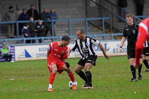 FIRST GOAL FOR MAGPIES: Ashley Nicholls
