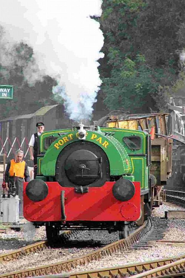 FULL STEAM AHEAD: A train called Judy being driven at Norden on the Swanage Railway	 Picture: Andrew PM Wright
