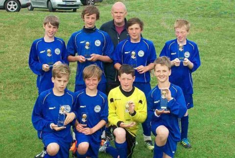 BRILLIANT BLUES: Portland United Under-12s