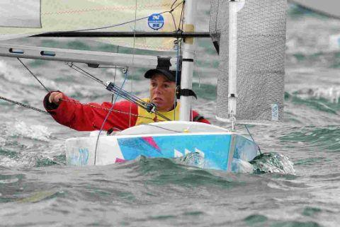 IN WITH A SHOUT: Paralympic sailor Helena Lucas