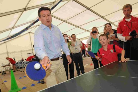 PARALYMPIC GAMES: Lord Coe is a real hit with crowds in Weymouth