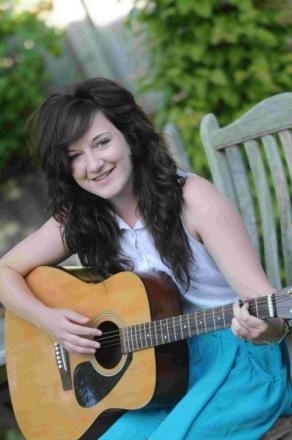 MUSICIAN: Kayleigh Zimmerman through to regional finals of national singing competition  	Picture: John Gurd/JG7932