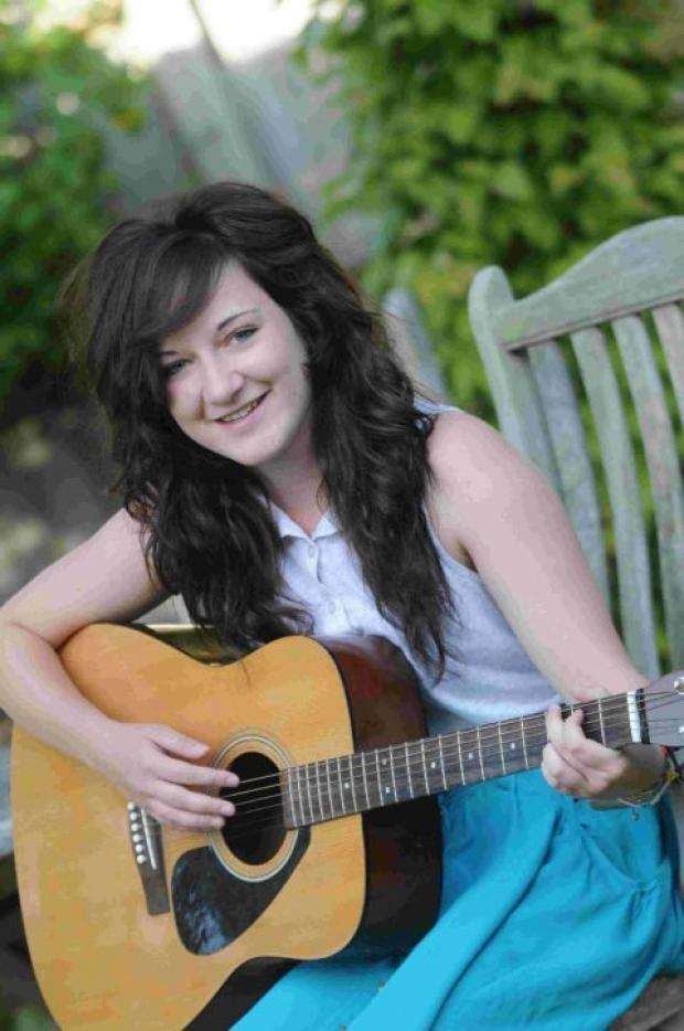 Dorset Echo: MUSICIAN: Kayleigh Zimmerman through to regional finals of national singing competition  	Picture: John Gurd/JG7932