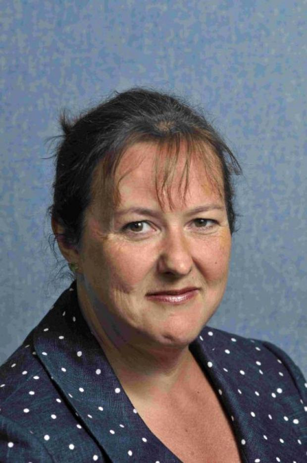 SEARCHING: Dorset County Councillor Toni Coombs