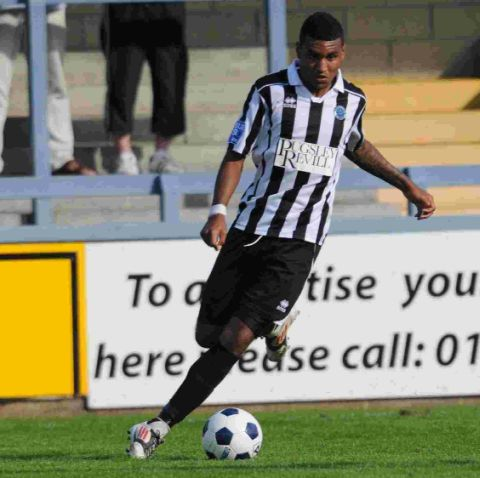 EYE FOR GOAL: Jamie Reid is currently the Magpies' top scorer