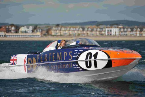 Echo reporter Emma Walker takes a trip in one of the powerboats
