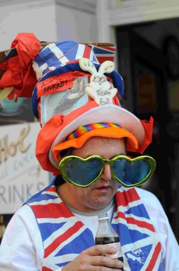 HAT CRAZY: Visitors dress to impress at Bridport Hat Festival