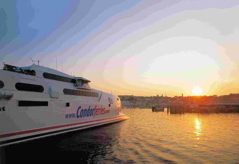 RISING FROM THE ASHES: A Condor ferry. Picture by Condor Ferries