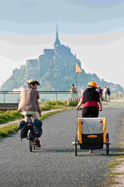 FORMIDABLE: The Petit Tour goes from the Jurassic Coast to Mont St Michel in France