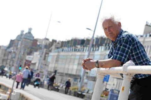 PETITION: Seafront lights campaigner Dave Burchill