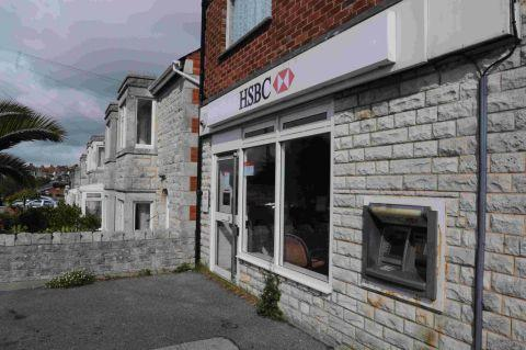 CLOSING: The HSBC branch on Portland Road in Wyke Regis