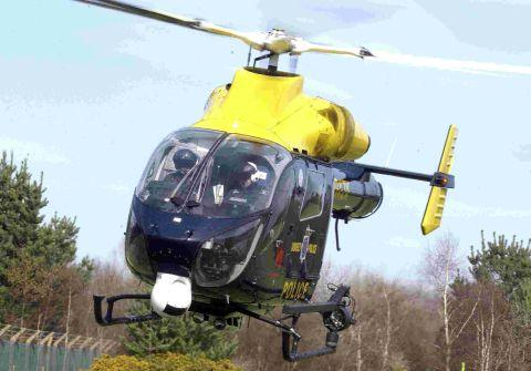 MOVING AWAY: Dorset Police helicopter could be based at Bournemouth