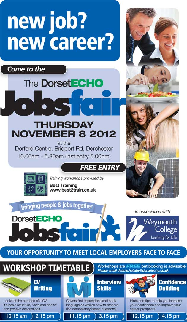 Dorset Echo Jobsfair November 8