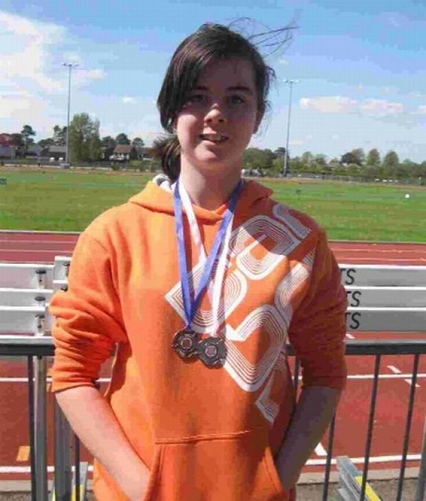 Dorset Echo: GOLDEN GIRL: Savannah Evans