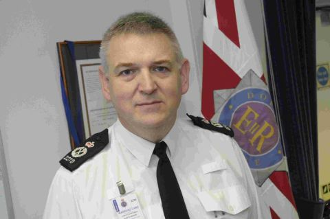 PROUD OF HIS COLLEAGUES: Dorset Police Chief Constable Martin Baker