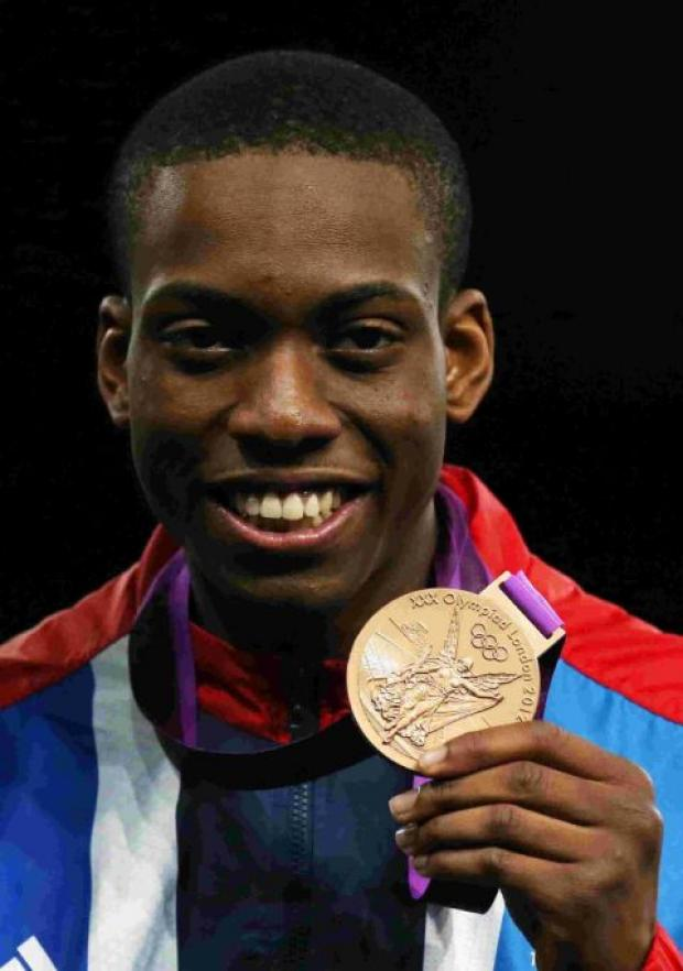 OLYMPIC SUCCESS: Lutalo Muhammad