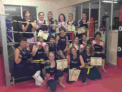 ALIVE AND KICKING: Dorchester's kickboxing lad