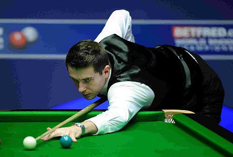 HEADING TO TOWN: Mark Selby