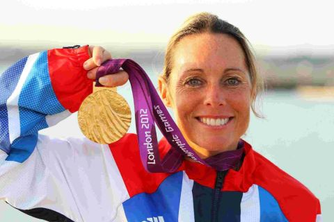 MAKING THE GRADE: Paralympic gold medallist Helena Lucas