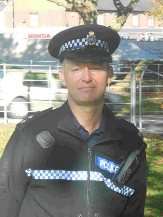 NEW ROLE: Inspector Steve Marsh