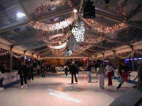 FESTIVE FUN: An artifical ice rink is coming to Portland