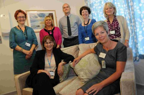 NEW SUITE: Opening of new bereavement room at DCH