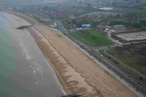 CLOSURE PLANS: The beach wall between Greenhill and Overcombe is set to close
