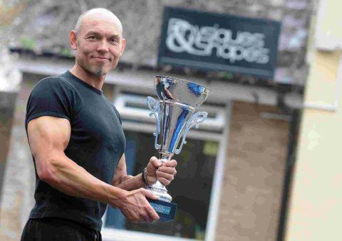 CHAMPION: Jason Harding of Physiques & Shapes in Dorchester