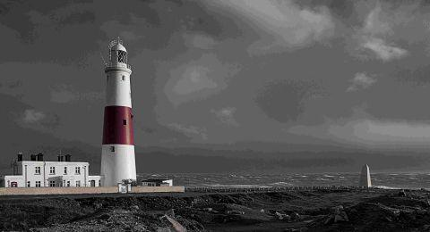 GLOOMY OUTLOOK: This photograph of Portland Bill on a stormy afternoon was taken by Richard Anders,