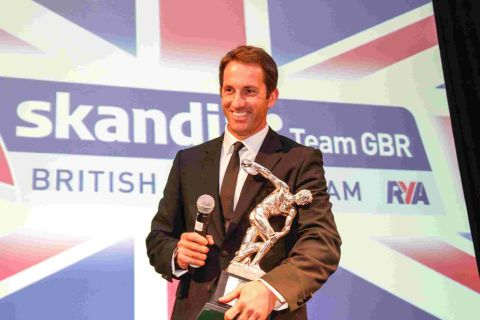 AWARD WINNER: Ben Ainslie