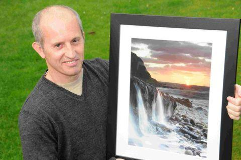 GLORIOUS: Dorset photo book competition winner Ian Alcock and his winning image