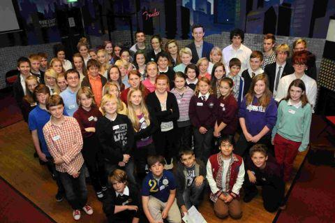 CANDIDATES: Youngsters finding out more about the Youth Parliament