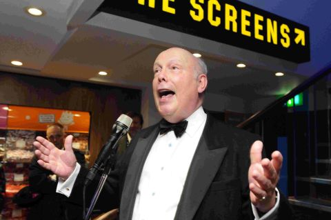 Julian Fellowes at  the opening featuring Skyfall