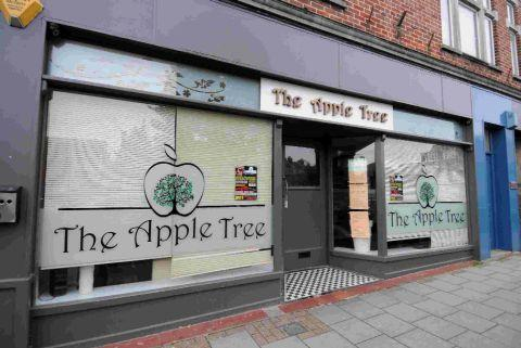 RARE INCIDENT: The Apple Tree in Trinity Street, Dorchester